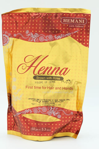 Henné Marron Rose HEMANI - 150 GR