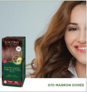 Soin Colorant Marron Doré - LOGONA