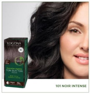 Soin Colorant Noir Intense - LOGONA