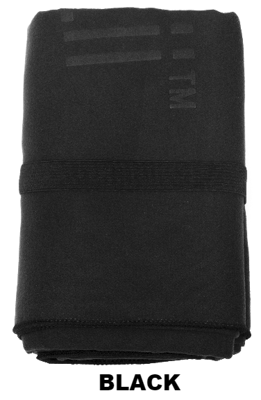 Black Talii Bath Shower Compact Dry Super Absorbent Anti Bacterial Odorless Sheet MicroFibre Towel