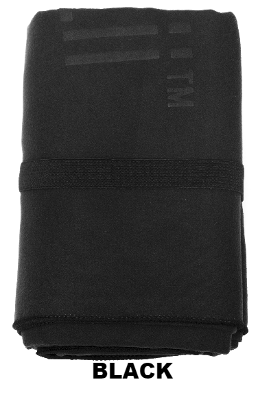 Black Talii Bath Shower Compact Dry Super Absorbent Anti Bacterial Towel