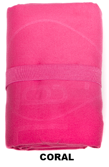 Coral Talii Bath Shower Compact Dry Super Absorbent Anti Bacterial Odorless Sheet MicroFibre Towel