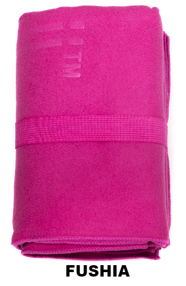 Fushia Talii Bath Shower Compact Dry Super Absorbent Anti Bacterial Towel