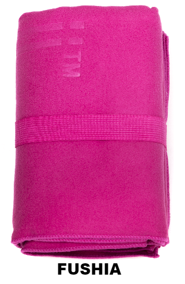 Fushia Talii Bath Shower Compact Dry Super Absorbent Anti Bacterial Odorless Sheet MicroFibre Towel