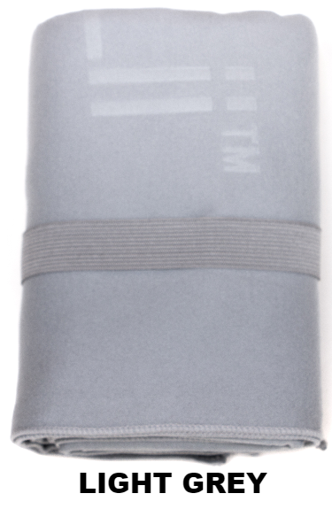Light Grey Talii Bath Shower Compact Dry Super Absorbent Anti Bacterial Odorless Sheet MicroFibre Towel