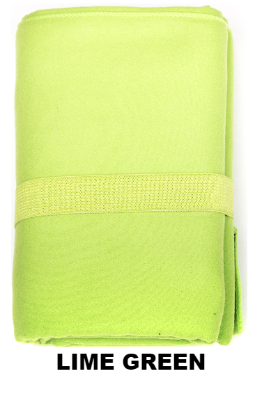 Lime Green Talii Bath Shower Compact Dry Super Absorbent Anti Bacterial Towel