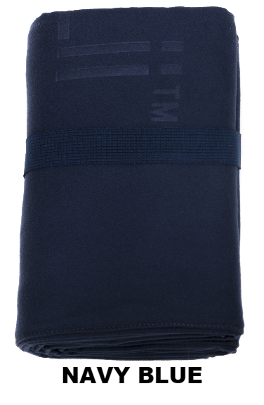 Navy Blue Talii Bath Shower Compact Dry Super Absorbent Anti Bacterial Towel