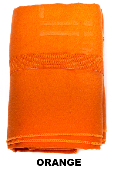 Orange Talii Bath Shower Compact Dry Super Absorbent Anti Bacterial Odorless Sheet MicroFibre Towel