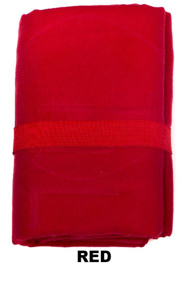 Red Talii Bath Shower Compact Dry Super Absorbent Anti Bacterial Towel
