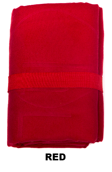 Red Talii Bath Shower Compact Dry Super Absorbent Anti Bacterial Odorless Sheet MicroFibre Towel