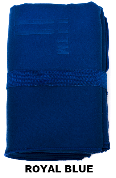 Royal Blue Talii Bath Shower Compact Dry Super Absorbent Anti Bacterial Odorless Sheet MicroFibre Towel