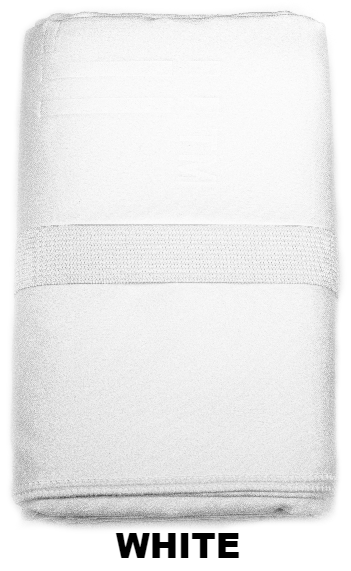 White Talii Bath Shower Compact Dry Super Absorbent Anti Bacterial Towel