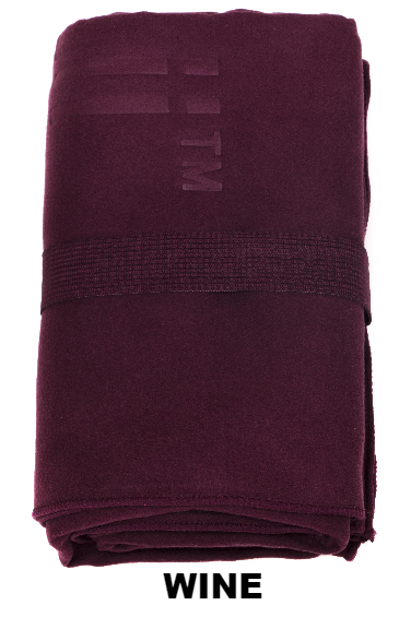 Wine Talii Bath Shower Compact Dry Super Absorbent Anti Bacterial Odorless Sheet MicroFibre Towel