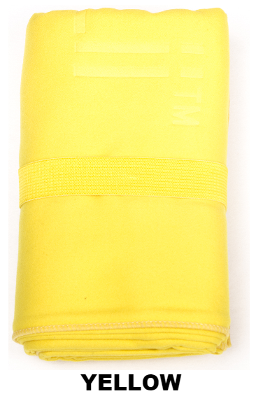 Yellow Talii Bath Shower Compact Dry Super Absorbent Anti Bacterial Odorless Sheet MicroFibre Towel