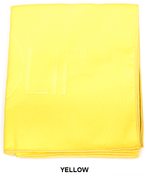 White Talii Sport Hand Compact Dry Super Absorbent Anti Bacterial Odorless Sheet MicroFibre Towel
