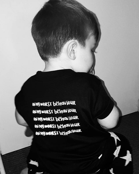 Terrible Twos Shirts - Worst Behaviour Lyrics