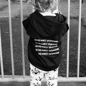 Drake On My Worst Behaviour Toddler Hoodie