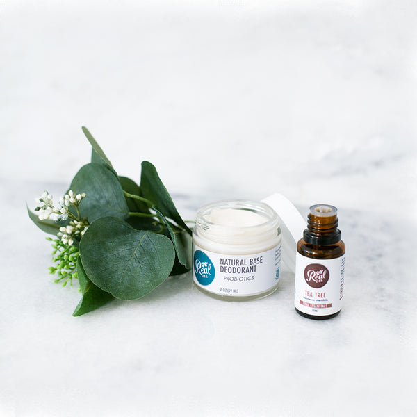 Natural Base Deodorant + Probiotics