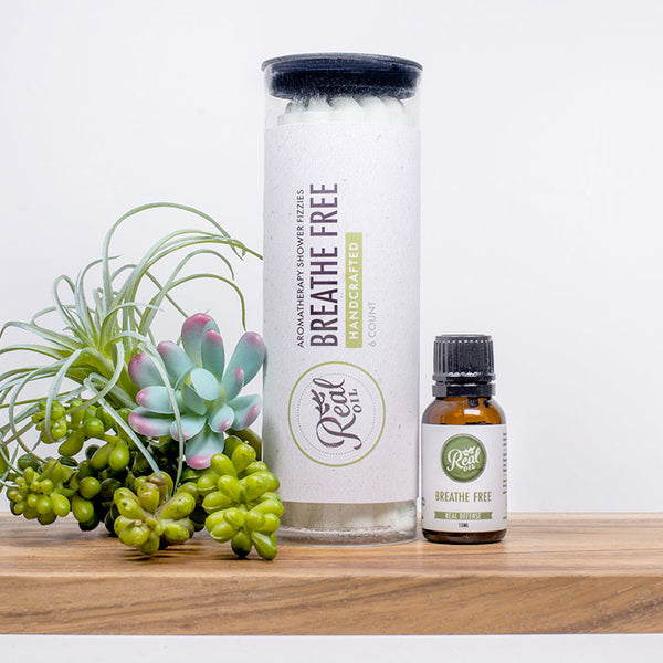 Breathe Free Shower Fizzy Duo Kit