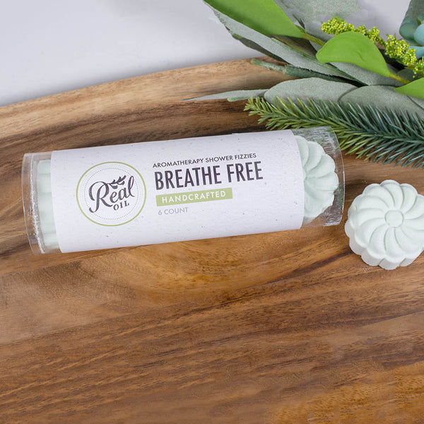 Breathe Free Aromatherapy Shower Fizzy 6-Pack