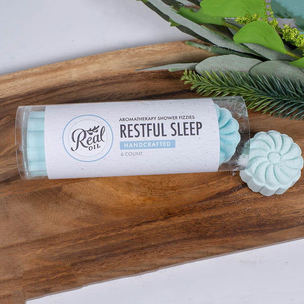 Restful Sleep Aromatherapy Shower Fizzy 6-Pack