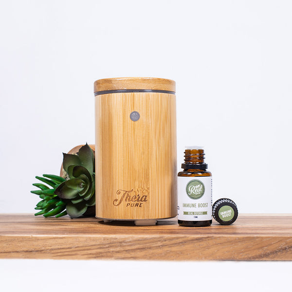 Thera Pure Pro Diffuser + Immune Boost Essential Oil Blend Bundle