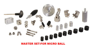 MASTER SET - FOR MICRO GRS BALL VISE TOOLS FOR STONE SETTING