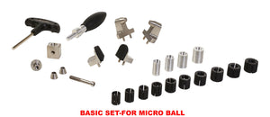 BASIC SET- FOR MICRO GRS BALL VISE TOOLS FOR STONE SETTING