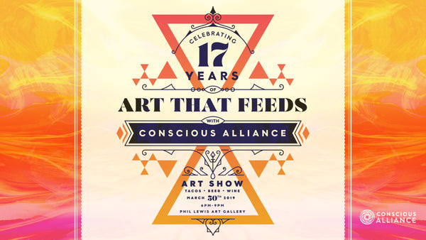 Benefit Show for Conscious Alliance - Saturday March 30th