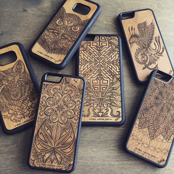 Engraved Phone Cases