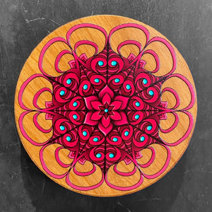 UV Printed Wooden Magnet