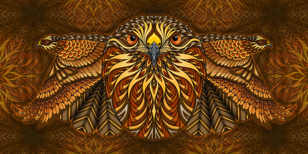 Red-Tailed Hawk - Print