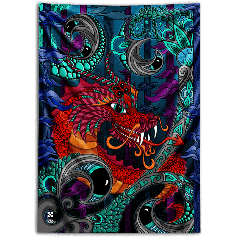 The Red Dragon Tapestry