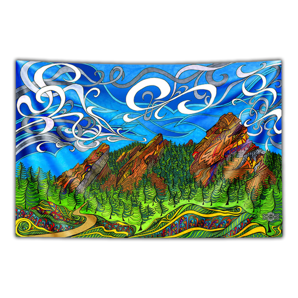 The Flatirons Tapestry