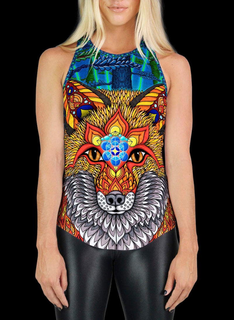 THE ELECTRIC FOX RACERBACK TANK