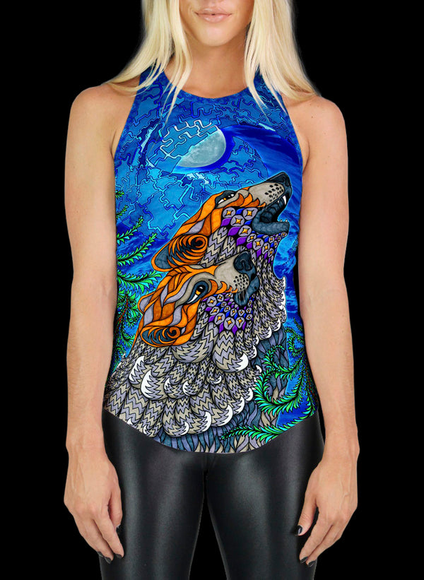 WOLF SONG RACERBACK TANK