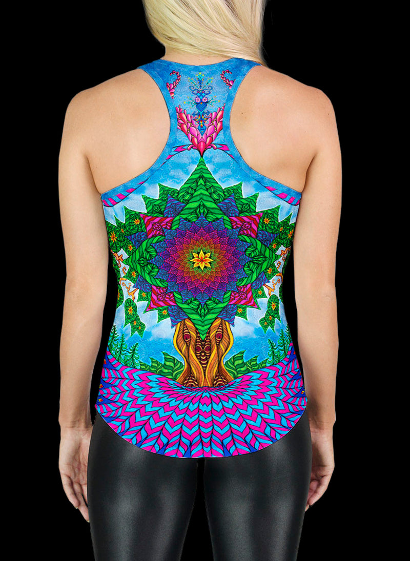 TREE OF LIFE RACERBACK TANK