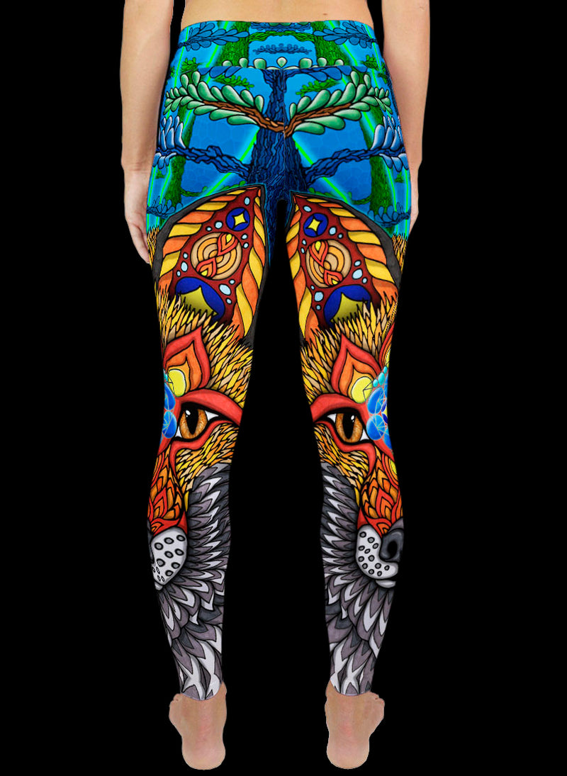 THE ELECTRIC FOX Active Leggings