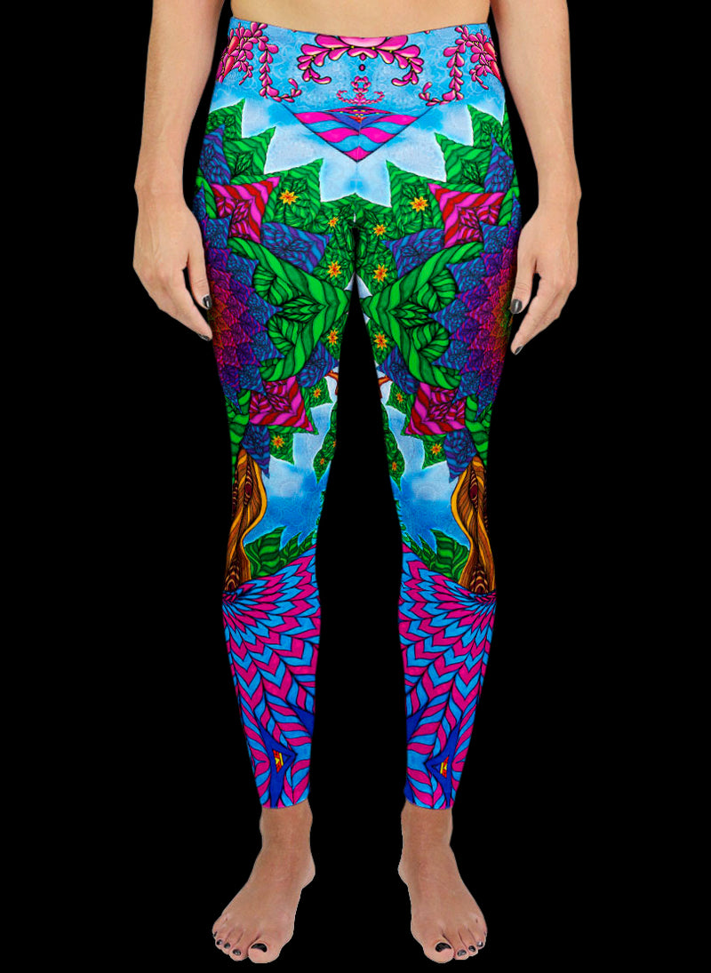TREE OF LIFE Active Leggings