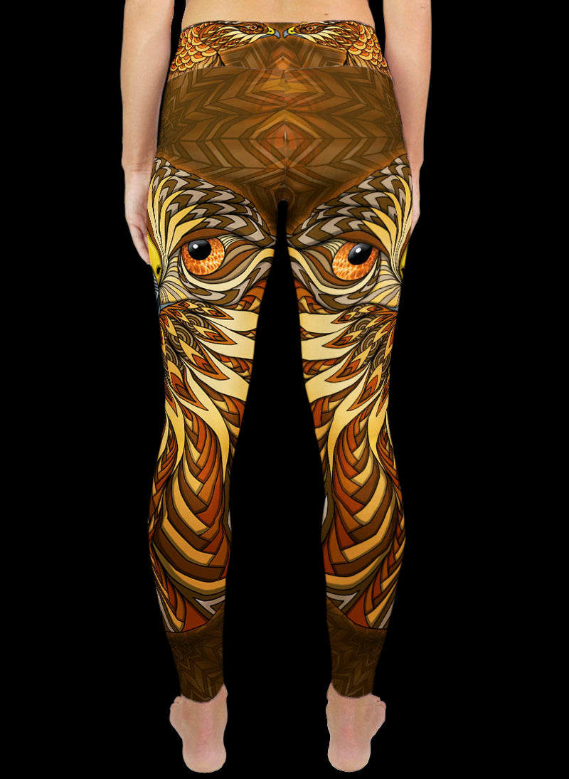 RED-TAILED HAWK Active Leggings