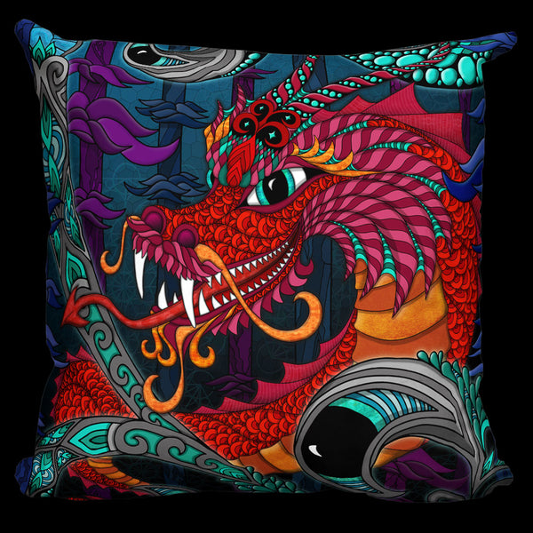 THE RED DRAGON Pillow