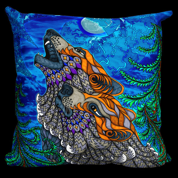 WOLF SONG Pillow