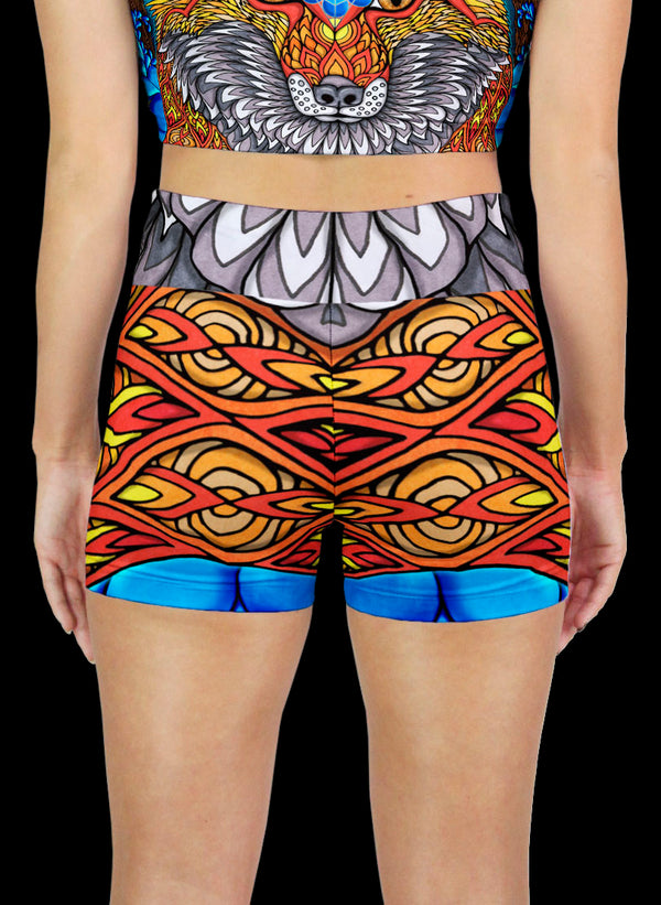 THE ELECTRIC FOX Active Shorts