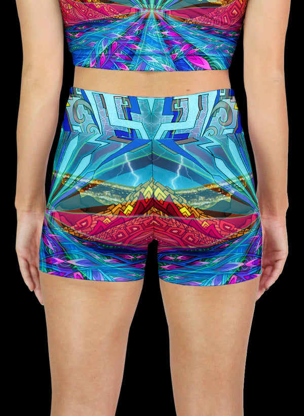 RED ROCKS Active Shorts