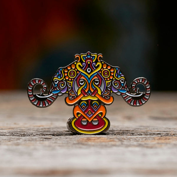Elephants Pin