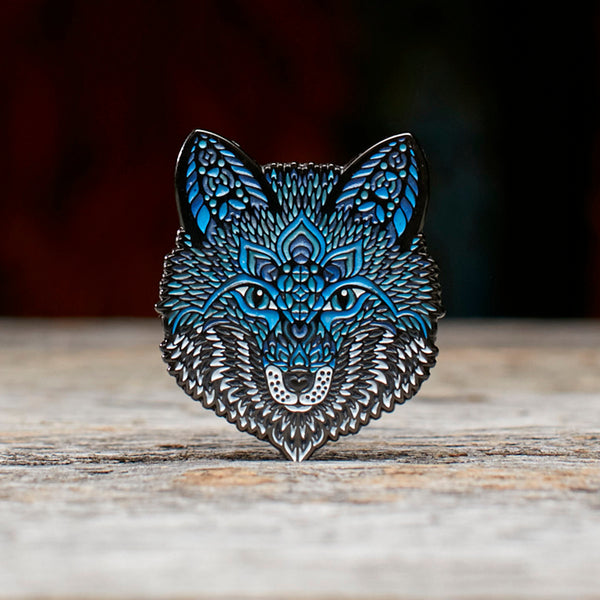 Ice Fox Pin