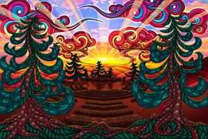 Sunrise Circle Tapestry