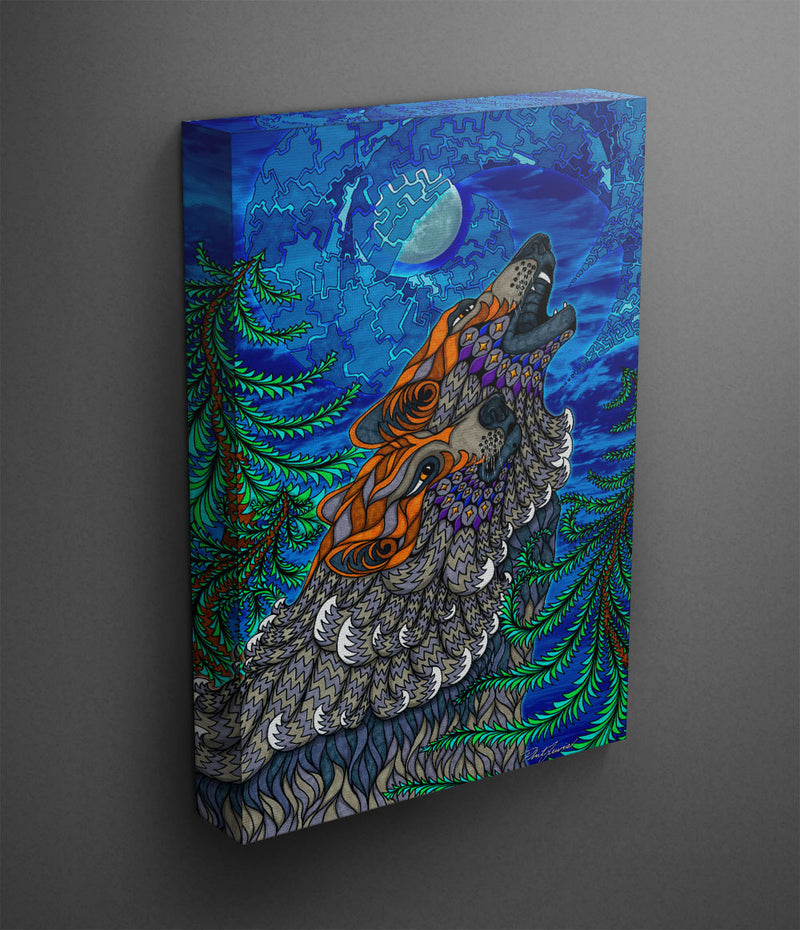 Wolf Song - Canvas Print