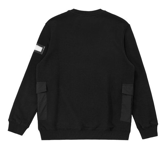 Sweat unisex dream one studio maze crewneck black