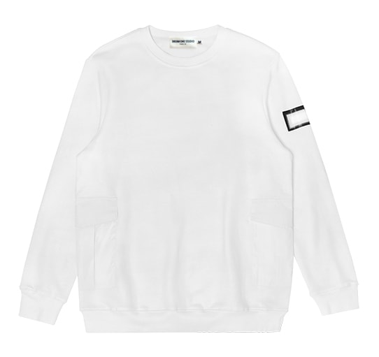 Sweat Maze Crewneck dream one studio white
